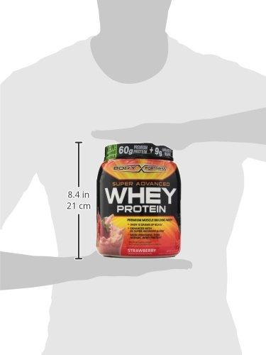 Body Fortress Super Whey Protein Strawberry, 2lb