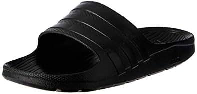 adidas Unisex  Duramo Slide Shoes, Core Black/Core Black/Core Black, 4 US (4 AU)