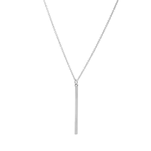 Long Bar Necklace - 4