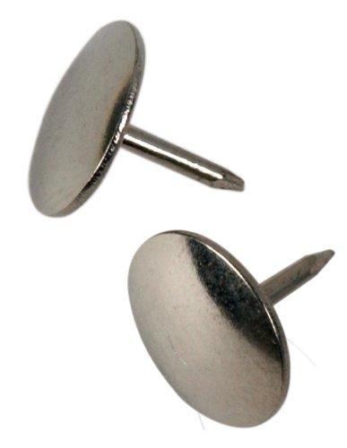 The Hillman Group 532443 Thumb Tacks, Nickel, 40-Pack