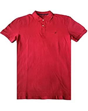 Slim Fit Polo Shirt ,Red