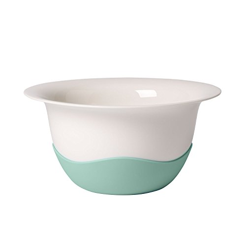 Clever Cooking Strainer/Serving Bowl by Villeroy & Boch - Premium Porcelain - Made in Germany - Dishwasher and Microwave Safe - 11.5 Inches, ()