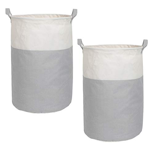 (Inuan 2 Pack Laundry Storage Baskets, 19.7