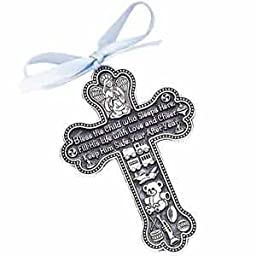 Bless The Child - GUARDIAN ANGEL Baby BOY Crib Cross 4\