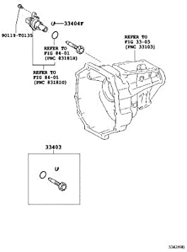 TOYOTA 33403-39585 Speedometer Driven Gear Sub Assembly