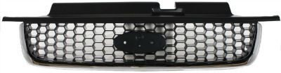 Evan-Fischer EVA17772022948 Grille Assembly Grill Plastic shell and insert Chrome with black (Grills For Ford Escape compare prices)