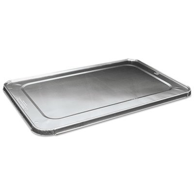 BWKLIDSTEAMFL - Boardwalk Full Size Steam Table Pan Lid, Aluminum, (Halloween City Corporate Number)