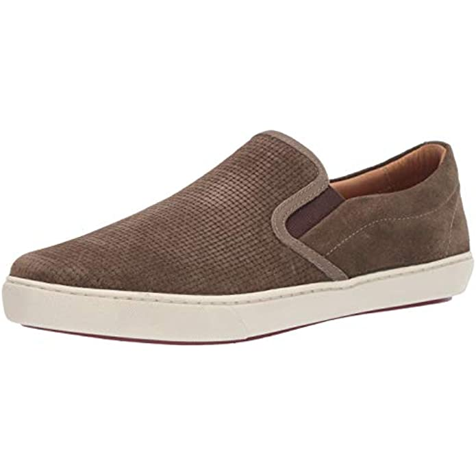 Driver Club USA Mens Leather Made in Brazil Maui Slip on Sneaker