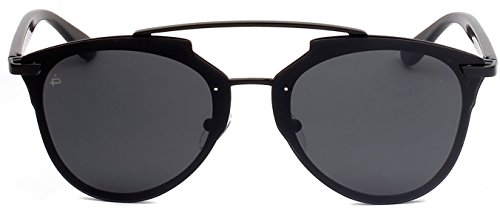 "PRIVÉ REVAUX ICON Collection ""The Benz"" Handcrafted Designer Geometric Sunglasses For Men & Women - Designer Sunglasses Custom"