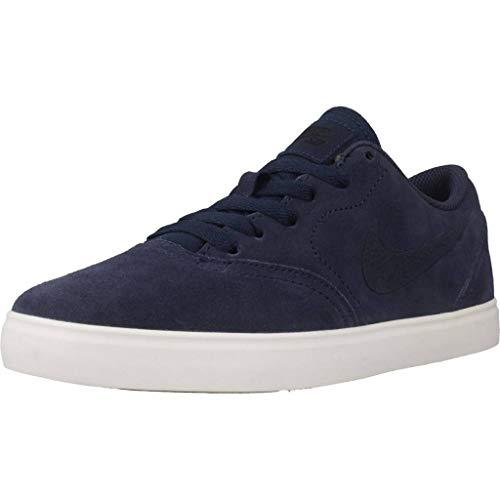 Navy Black Sb Navy Sneakers Suede Herren Gs NIKE Check 001 Mehrfarbig Midnight Midnight wHBvRqx