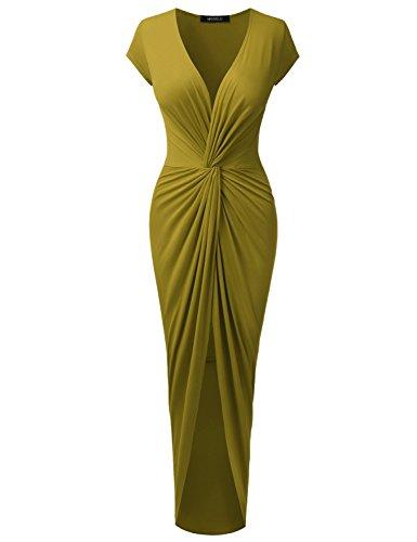 Doublju Short Sleeve Tulip Hem Surplice product image