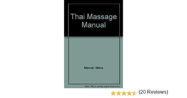 Thai massage manual maria mercati amazon books fandeluxe Gallery