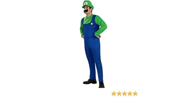 Disfraz Luigi adulto: Amazon.es: Ropa y accesorios
