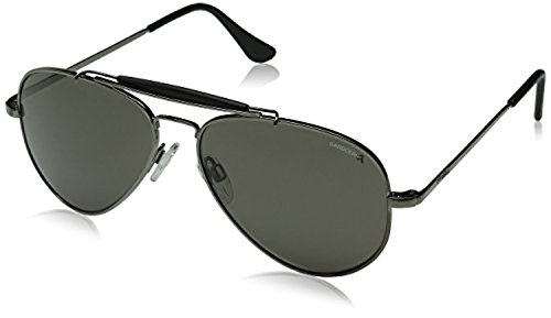 Randolph Sportsman Sunglasses Gun Metal / Skull / Gray Polarized Glass 57mm and Cleaning Kit - Randolph Sunglasses Sportsman