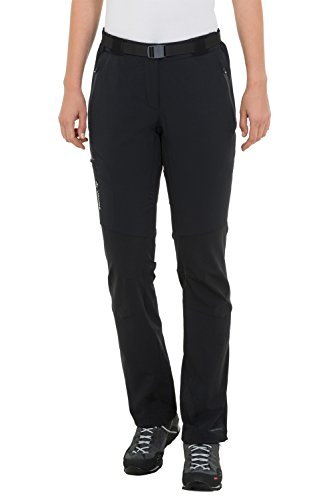 Vaude Defender III Ladies short black (Size: 42-kurz) softshell pants by VAUDE