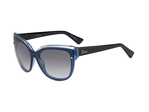 Christian Dior Glisten 3/S Sunglasses Crystal Opal Blue / Gray Gradient