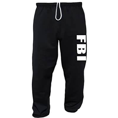 FBI Black Sweatpants