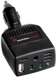 SAMLEX 100W PORTABLE INVERTER FOR VEHICLES by Samlex