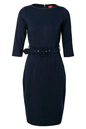 Gürtel mit La Navy Kleid V Damen qxrwnAar