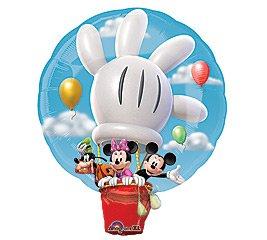 Anagram Disney Mickey Hot Air Balloon Jumbo Foil Balloon ()