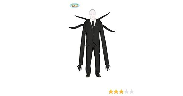 Disfraz de Slender Man para hombre: Amazon.es: Juguetes y juegos