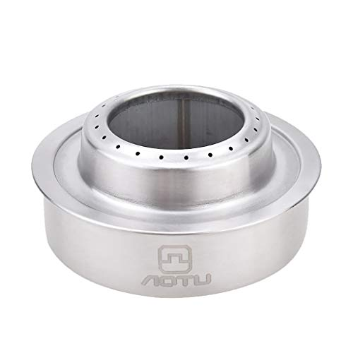CHLZYD Outdoor Picnic Burner Alcohol Stove Camping Hiking Backpacking Mini Furnace New