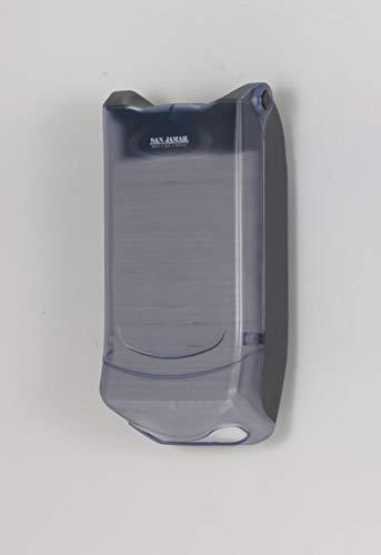 San Jamar H5004P Venue Wall Mount Mini Interfold Napkin Dispenser, 600 Capacity, 8'' Width x 15-3/4'' Height x 5-9/10'' Depth, Clear by San Jamar (Image #3)