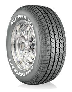 - Mastercraft Avenger G/T All-Season Radial Tire - P235/55R16/SL 96T