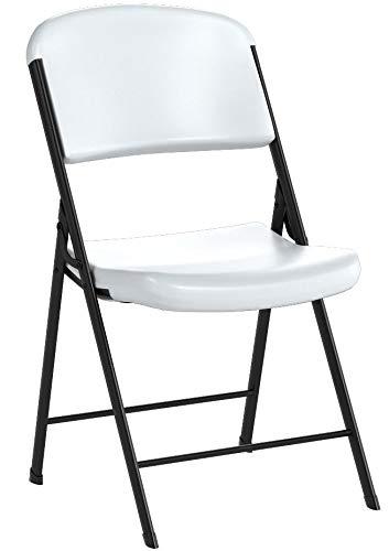 Prime Lifetime 42804 Classic Commercial Grade Folding Chair White Interior Design Ideas Apansoteloinfo
