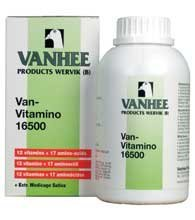 Vanhee Van Vitamino 16500 500 ml. Vitamins and amino acids. For Pigeons, Birds & Poultry