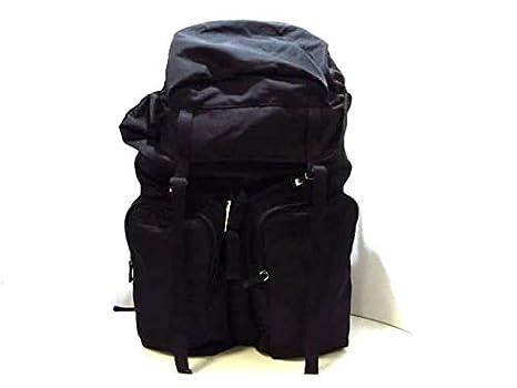 b101939f614b Amazon.co.jp: (プラダ)PRADA リュックサック 黒 V136 【中古】: 服 ...