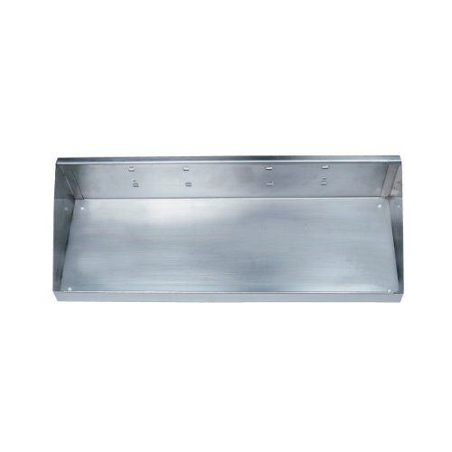 Triton Products 66186 Stainless Steel LocHook 18-Inch W by 6-1/2-Inch Deep Stainless Steel Shelf for Stainless Steel LocBoard (Deep Stainless Steel Shelf)