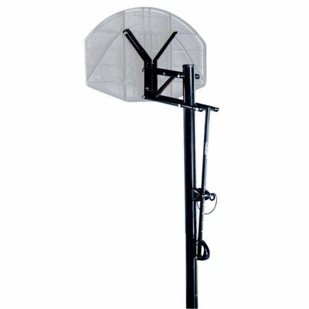 Spalding 88300S ExactaHeight Adjustable Pole Basketball Hoop System