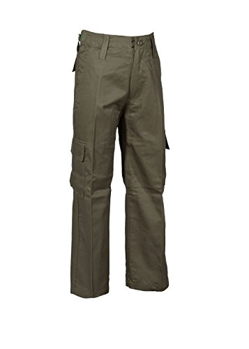 Us pantaloni scelta Rangerhose Kid a Xxl Colori Taglia Boy per Kampfhose S stile diversi confortevoli Solidi Girl Olive a EdfwqBE