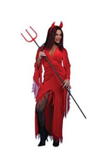 devil woman adult costume size 12-14