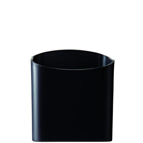 (Quartet Magnetic Pen and Pencil Cup Holder, Black (48120-BK))