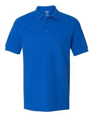 Premium Pique Polo - Gildan 82800 Premium Cotton Adult Double Pique Polo - Royal, 2XL