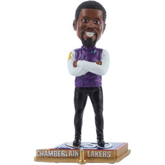 Los Angeles Lakers Chamberlain W. #13 Legends 50 Greatest Players Bobble ()
