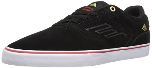 Emerica The Reynolds Low Vulc, Color: Black/White/Red, Size: 37 Eu / 5 Us / 4 Uk