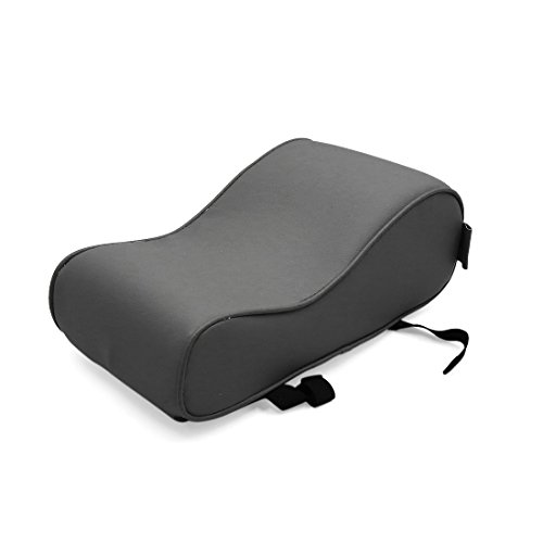 uxcell Gray Faux Leather Universal Multifunctional Armrest Pad Cushion for Car SUV by uxcell (Image #4)
