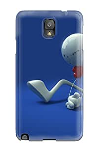Hot Tpu Cover Case For Galaxy/ Note 3 Case Cover Skin - D