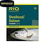 #3: Rio Fishing Products Steelhead/Salmon Leader, 3 Pack