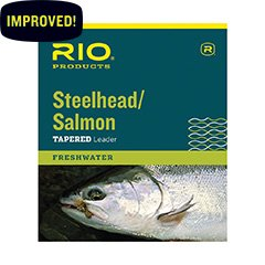Rio Fishing Products Steelhead/Salmon Leader 9ft 16lb, 3 Pack
