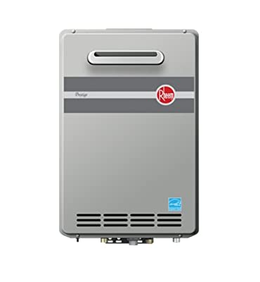 Rheem RTGH-95XLN Prestige Natural Gas Outdoor Whole House Low NOx Condensing Tankless 9.5 GPM Water Heater