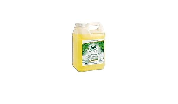 JEX (bidón de 5 litros de líquido lavavajillas mano limón: Amazon ...