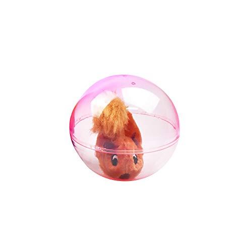 c Hamster Rabbit Animal Running Rolling Ball Kids Children Toys - Squirrel# ()