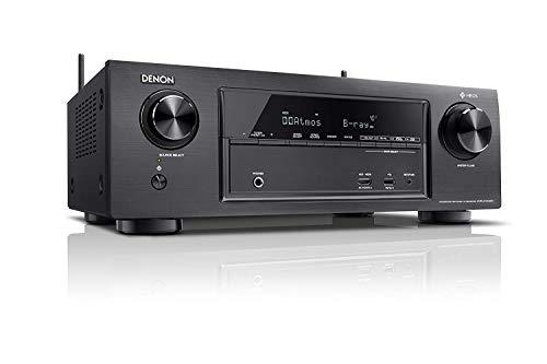 Denon X Series AVR X1400H 7.2 Channel AV Surround Receiver with Heos  Black