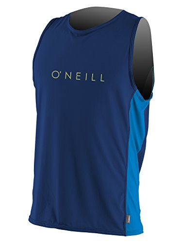 - O'Neill men's 24/7 Tech Sleeveless Crew XL Navy/pacific (4248C)