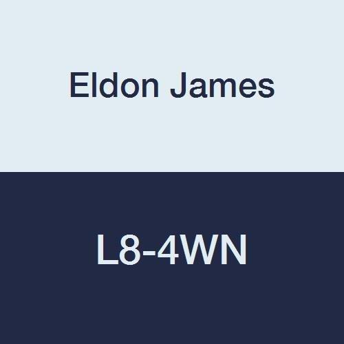 1//2-14 NPT Thread to 1//4 Barb 1//2-14 NPT Thread to 1//4 Barb Pack of 10 Pack of 10 Eldon James L8-4WN White Nylon Threaded Elbow