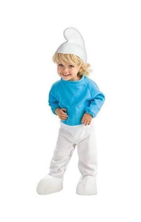 Horror-Shop Los niños pequeños Traje Smurf M: Amazon.es: Juguetes ...